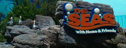 The Seas with Nemo & Friends is one of My vacation @Orlando.