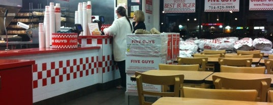 Five Guys is one of Burgers & more - So.Cal. edition.