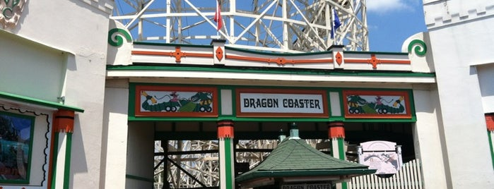 Dragon Coaster is one of ROLLER COASTERS 4.