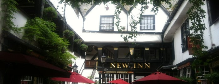 The New Inn is one of Carl'ın Beğendiği Mekanlar.