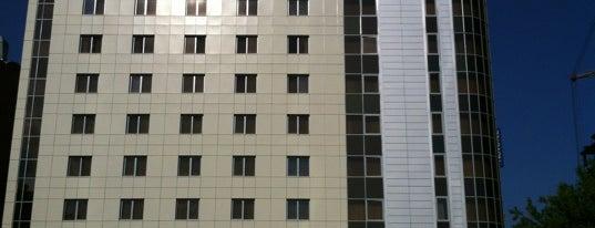 Novotel Екатеринбург Центр is one of Hotels.