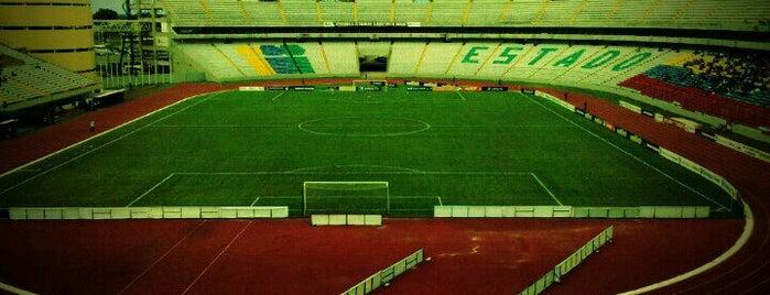 CTE Cachamay is one of Estadios Primera División de Venezuela.