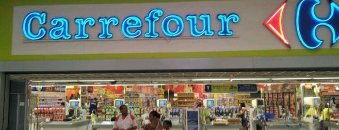 Carrefour is one of Tempat yang Disukai Filipe.