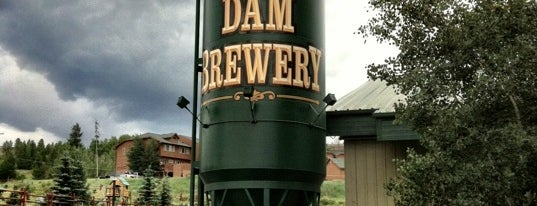 Dillon Dam Brewery is one of Drew's favorites.