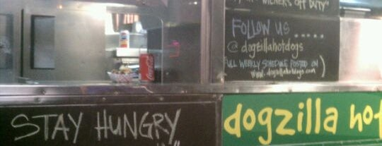 Dogzilla Hot Dogs Truck is one of Orange County Weekly Best Of.