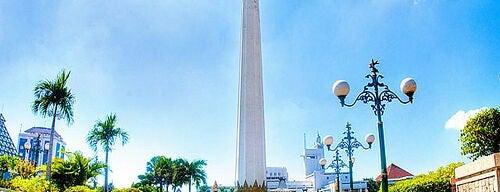 Tugu Pahlawan is one of Characteristic of Surabaya.