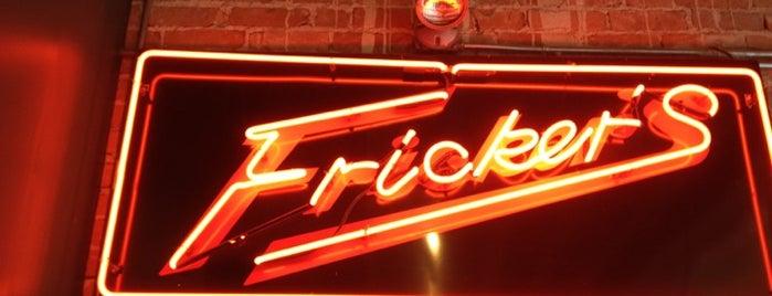 Fricker's is one of Free WiFi.