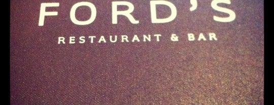 Ford's Restaurant & Bar is one of randomasyalike'nin Beğendiği Mekanlar.
