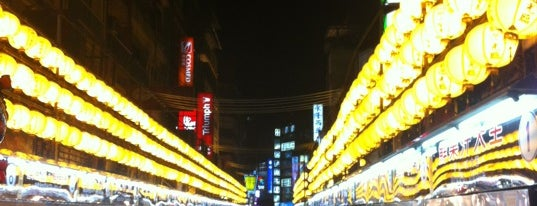 Miaokou Night Market is one of Posti che sono piaciuti a Yuwi.