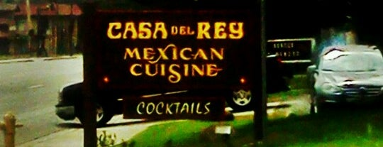 Casa del Rey Mexican Restaurant & Cantina is one of Tempat yang Disukai Blake.