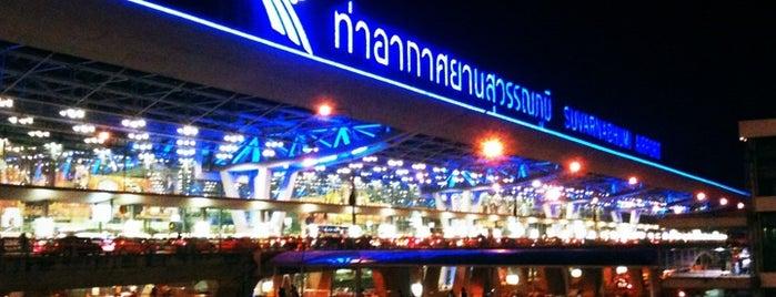 Aeropuerto Suvarnabhumi (BKK) is one of Visited Airports around the world.
