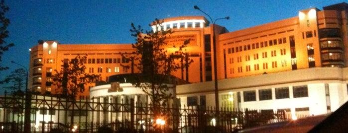 Факультет государственного управления МГУ is one of Gespeicherte Orte von Ilya.