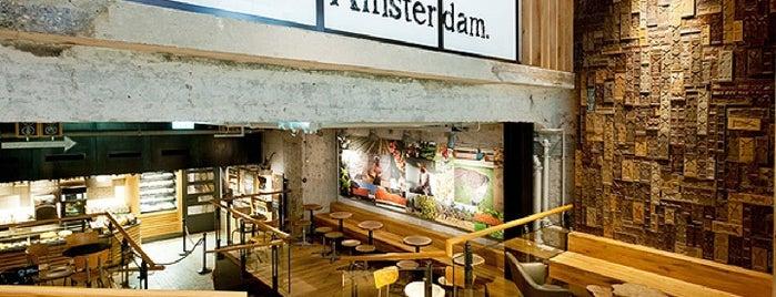 Starbucks is one of Best Of Amsterdam.