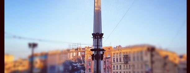 Vosstaniya Square is one of Sight-Seeing in SPB.