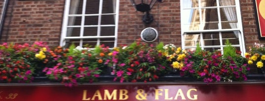 The Lamb & Flag is one of London.