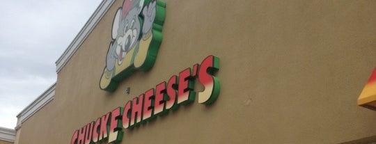Chuck E. Cheese is one of Miami / Boca.