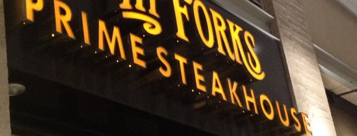 III Forks is one of Eat Houston.