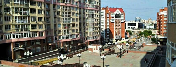Пешеходная эспланада (от Шейнкмана к Гринвичу) is one of สถานที่ที่ Георгий ถูกใจ.