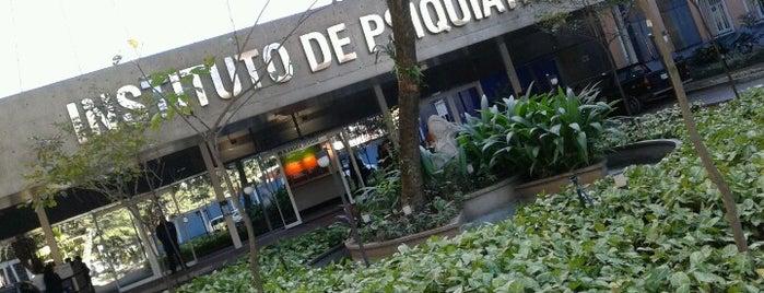 IPq - Instituto de Psiquiatria - HCFMUSP is one of Locais curtidos por Amanda.
