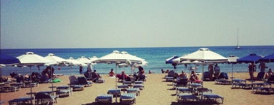 Faliraki Beach is one of Rhodes.
