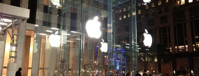 Apple Fifth Avenue is one of All-time favorites in United States (Part 1).