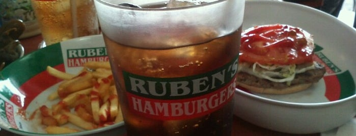 Ruben's Hamburgers is one of CDMX Sur.
