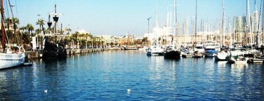 Rambla de Mar is one of Barcelona.