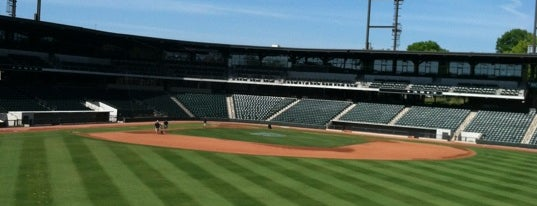 BB&T Ballpark is one of Minor League Ballparks.