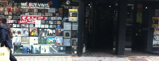 Sister Ray Records is one of Kim's London Favs & Wishlist.