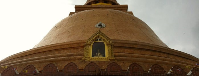 Phra Pathom Chedi is one of wonders of the world.