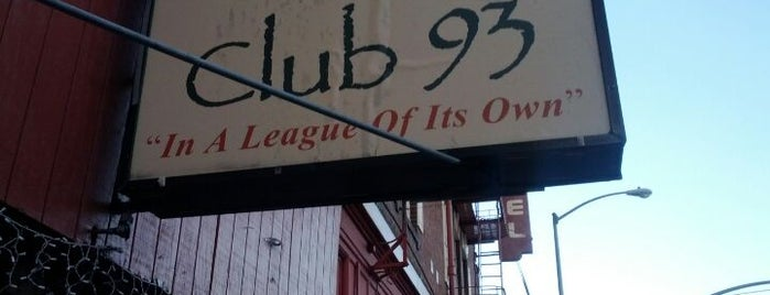 Club 93 is one of SoMa Bars.