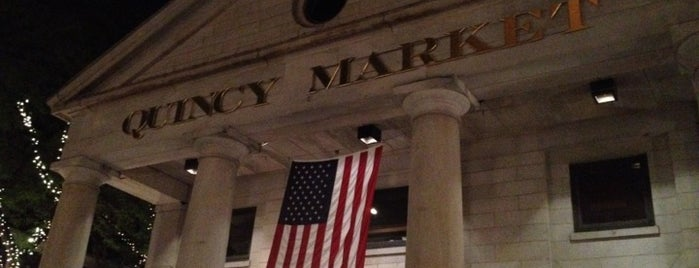 Quincy Market is one of My Boston Bean.