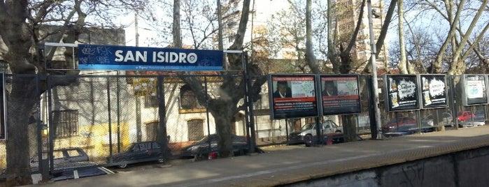 Estación San Isidro [Línea Mitre] is one of Tempat yang Disukai Rodrigo.