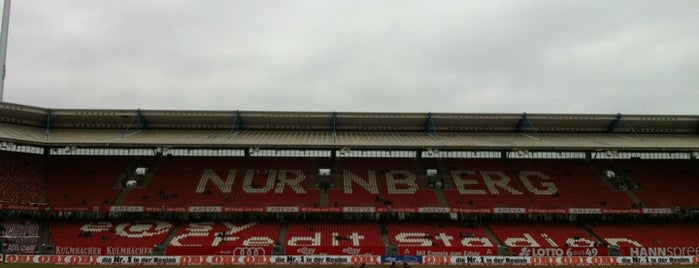 Max-Morlock-Stadion is one of 'Stadium Talk'....