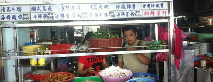 Famous Seafood Porridge - public cafe is one of Penang | Eats.