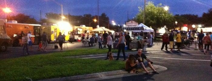 Oveido Food Truck Bazaar is one of Orlando City Badge - The City Beautiful.