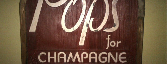 Pops for Champagne is one of Chicago.