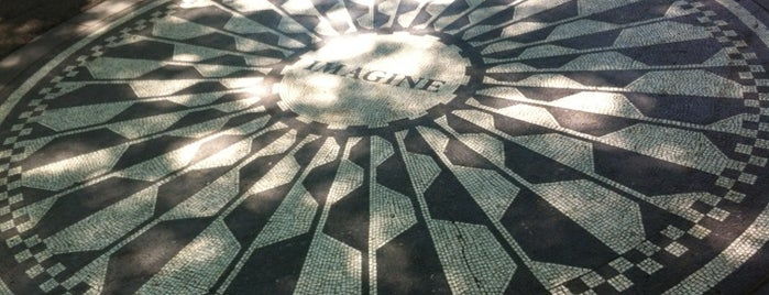 Strawberry Fields is one of My tips collection of New York City.