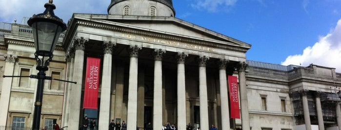 National Gallery is one of London's Must-See Attractions.