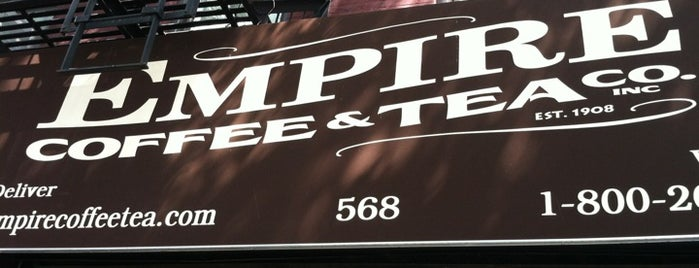 Empire Coffee & Tea is one of Wifi NYC.