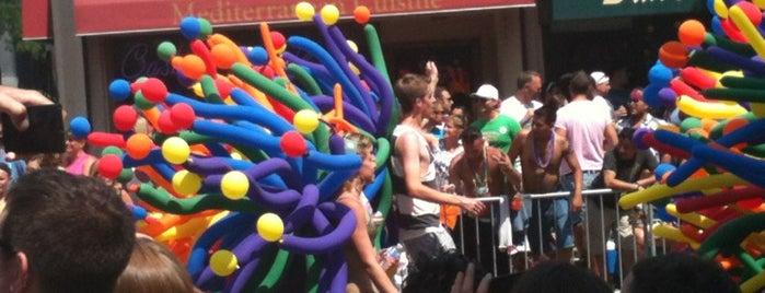 Boystown is one of Gay Places 2!!.