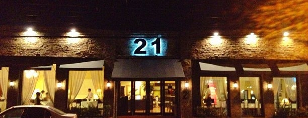 21 Bar & Restaurant is one of Recorded.