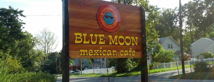 Blue Moon Mexican Cafe is one of Frequent Places.