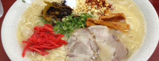 博多長浜ラーメン みよし is one of Lugares favoritos de corno0903.