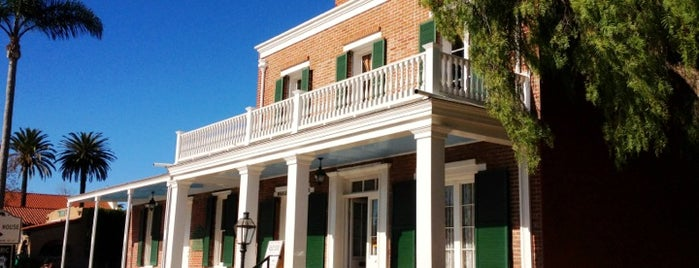 The Whaley House Museum is one of SD.
