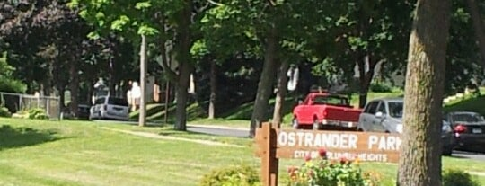 Ostrander Park is one of A.
