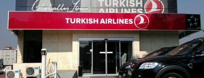 Türk Hava Yolları Satış Ofisi is one of Tempat yang Disukai Murat.