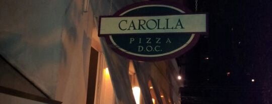Carolla Pizza D.O.C. is one of Jantar.