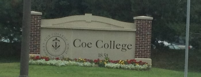 Coe College is one of Places I Have Exhibited.