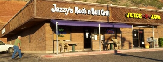 Jazzy Java Rock and Roll Grill is one of Matt and Andrew's Great American Road Trip 2013.